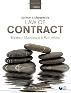 Koffman & Macdonald's Law of Contract…