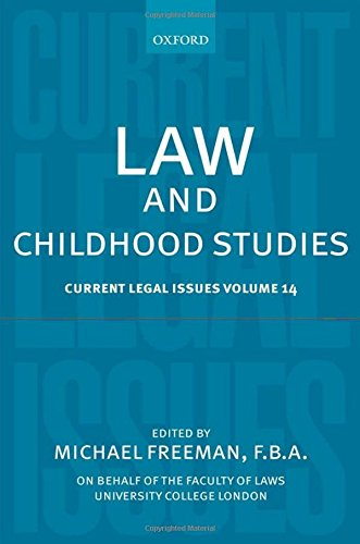 law-and-childhood-studies-current-legal-issues-volume-14