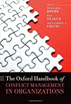 The Oxford Handbook of Conflict Management…