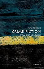 Crime Fiction: A Very Short Introduction by…