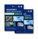 Connor, Paul: Blackstone's Police Investigators' Manual and Workbook 2013