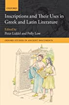 Inscriptions and their uses in Greek and…
