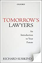 Tomorrow's Lawyers: An Introduction to…