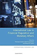 International Law in Financial Regulation…