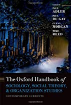 The Oxford Handbook of Sociology, Social…