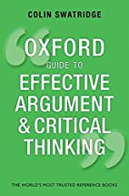 Oxford Guide to Effective Argument and…