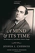 A mind and its time : the development of…
