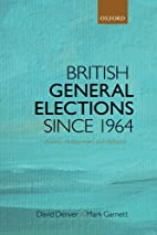 British General Elections Since 1964:…
