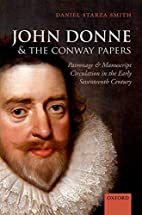 John Donne and the Conway Papers: Patronage…