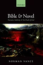 Bible and novel : narrative authority and…