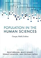 Population in the Human Sciences: Concepts,…