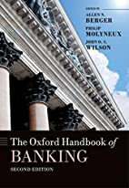 The Oxford Handbook of Banking, Second…
