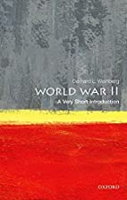 World War II: A Very Short Introduction by…