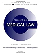 Medical Law Concentrate: Law Revision and…