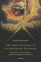 The Limits of Ethics in International…