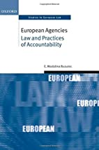 European Agencies Law and Practices of…