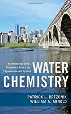 Water Chemistry: An Introduction to the…