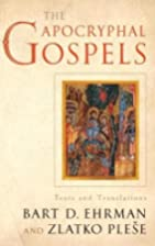 The Apocryphal Gospels: Texts and…