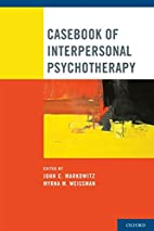 Casebook of interpersonal psychotherapy by…