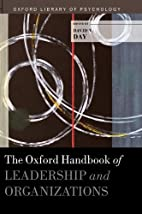 The Oxford Handbook of Leadership and…