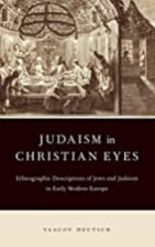Judaism in Christian Eyes: Ethnographic…