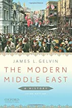 The Modern Middle East: A History by James…