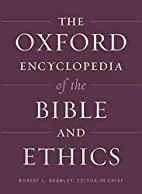 The Oxford Encyclopedia of the Bible and…