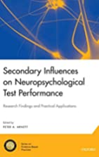 Secondary Influences on Neuropsychological…