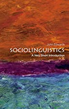 Sociolinguistics: A Very Short Introduction…