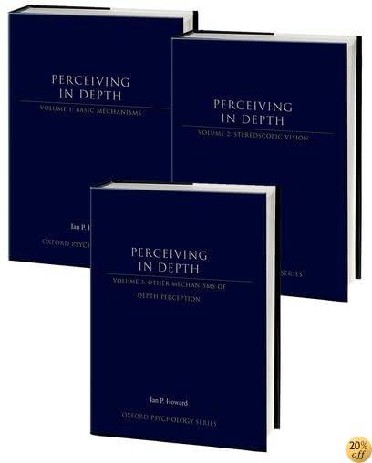 Perceiving in Depth: 3-Volume Set (Oxford Psychology Series)