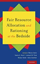 Fair Resource Allocation and Rationing at…