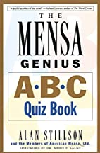 Mensa Genius A-B-C Quiz Book by Alan…