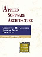 Applied Software Architecture by Christine…