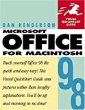 Sagman, Stephen W.: Microsoft Office 98 for Macintosh