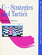 C++ Strategies and Tactics by Robert B.…