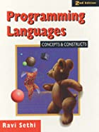 Programming Languages: Concepts and…
