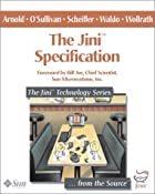 The Jini(TM) Specification (The Jini(TM)…