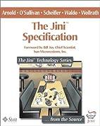 The Jini(TM) Specification (The Jini(TM)…