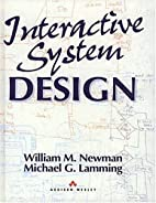 Interactive System Design by Michael G.…