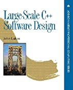 Large-Scale C++ Software Design by John…