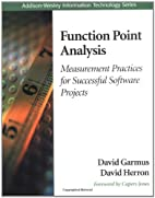 Function Point Analysis: Measurement…