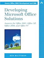 Developing Microsoft Office Solutions:…