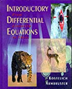 Introductory Differential Equations: From…