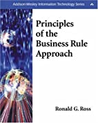 Principles of the Business Rule Approach by…