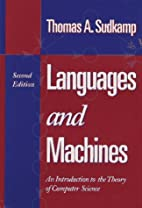 Languages and Machines: An Introduction to…