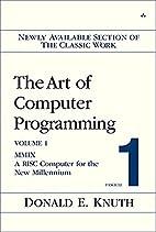The Art of Computer Programming, Volume 1,…