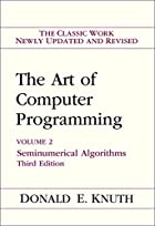 The Art of Computer Programming: Volume 2 -…
