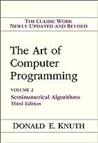 Art of Computer Programming, Volume 2:…