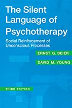 The Silent Language of Psychotherapy: Social…