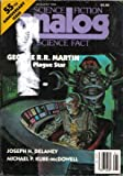 George R. R. Martin: Analog Science Fiction and Fact, January 1985 (Volume CV, No. 1)